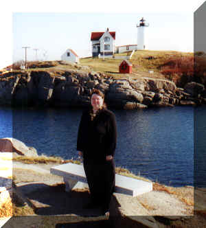 Beckie @ Nubble Light